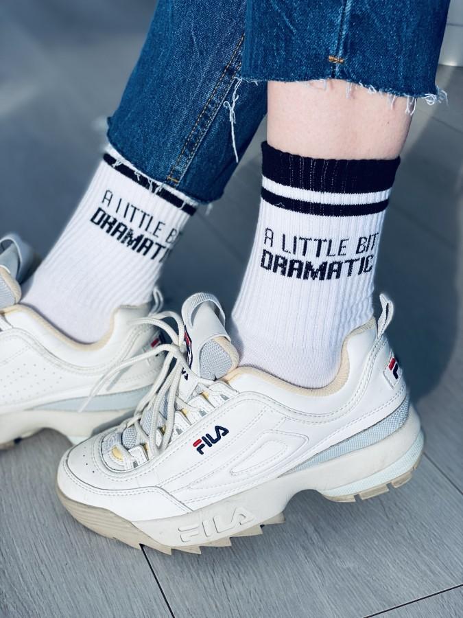 Kojinės DRAMATIC, baltos